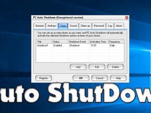 PC Auto Shutdown