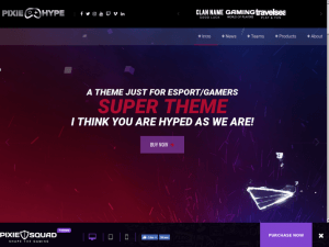 pixiehype-one-page-wordpress-theme-for-gamersesport