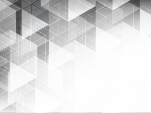 Abstract geometric white and gray