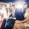 Smartly dressed celebrity couple