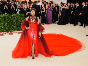 Nicki Minaj attends the 2018 Metropolitan Museum