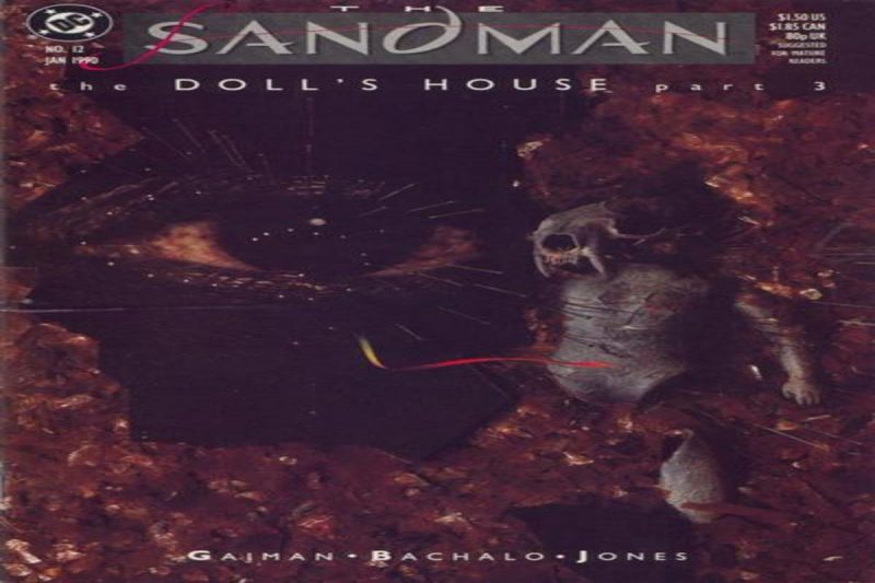 The Sandman #12 The Doll's House P3 Playing House