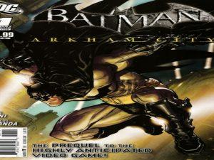 Batman Arkham City #1 Comic issue 1st