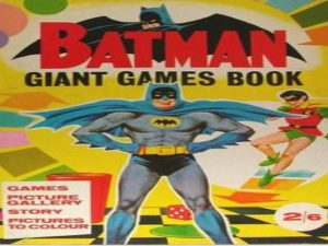 Batman Giant Games Book
