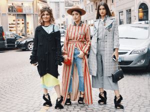 Models, bloggers and influencers Milan, Italy - February 23, 2018