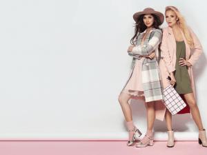 Fashionable two women