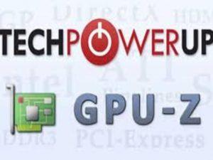 echPowerUp GPU-Z