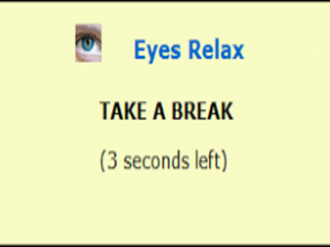 Eyes Relax software