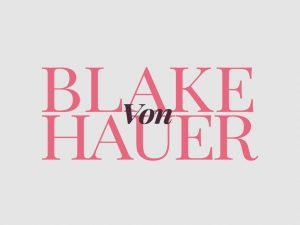 Blake von Hauer - Editorial Fashion Magazine Theme