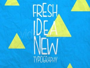 Stop Motion Typography