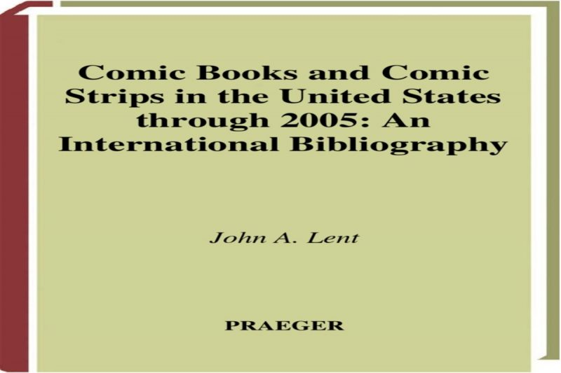 Comic Books and Comic Strips in the United States through 2005
