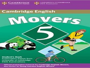 Cambridge Young Learners English Tests Movers 5 Student Book