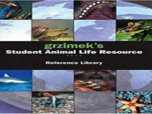 Grzimek's Student Animal Life Resource – Cumulative Index