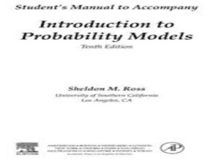Introduction to Probability Models, Student Solutions Manual