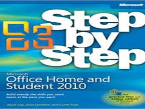 Microsoft Office Home & Student 2010 Step by Step